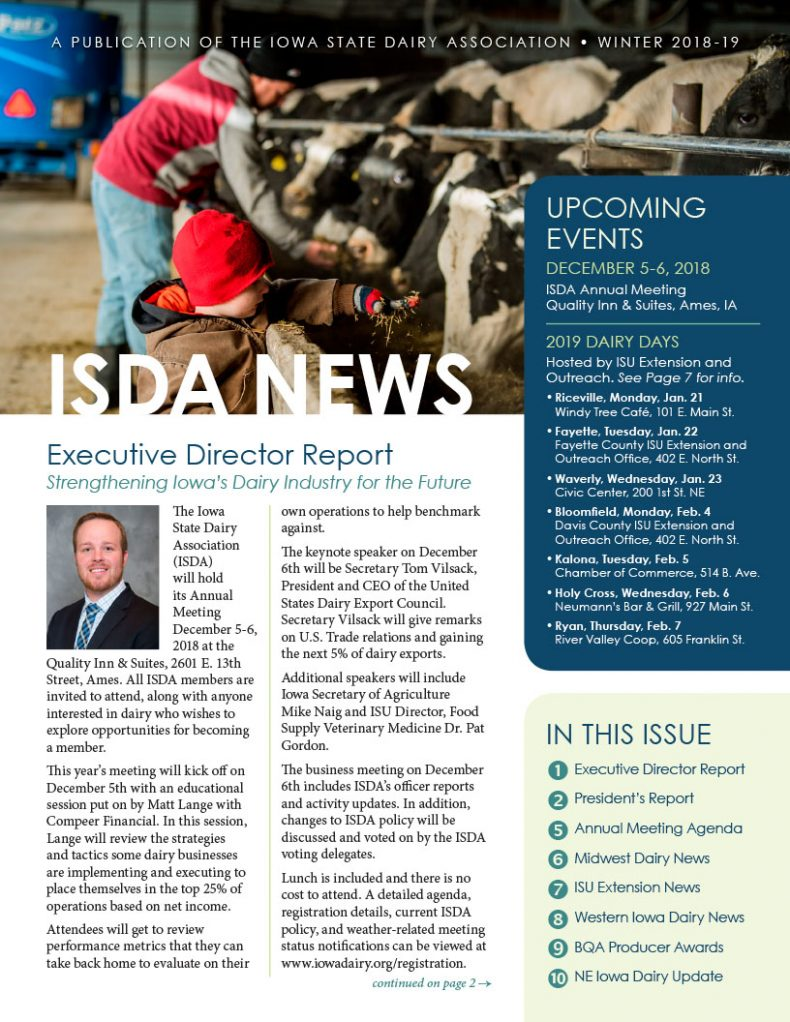 ISDA Newsletter - Winter 2018