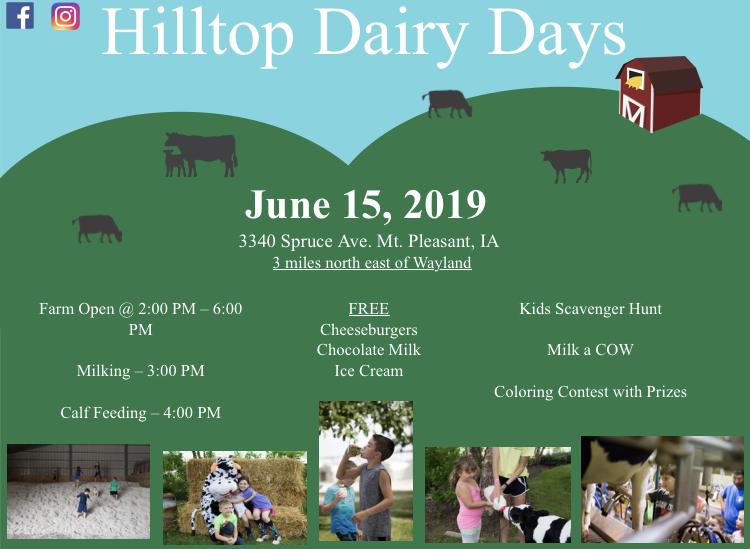 2019 Hilltop Dairy Days