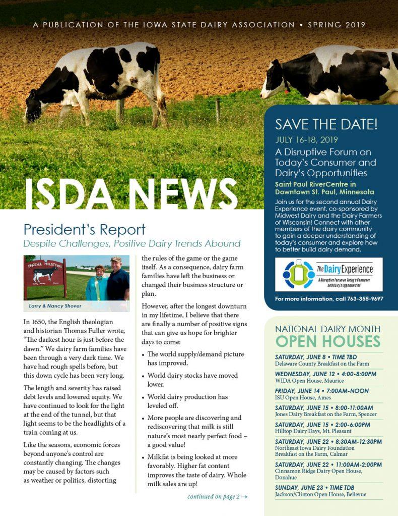 ISDA Newsletter - Spring 2019
