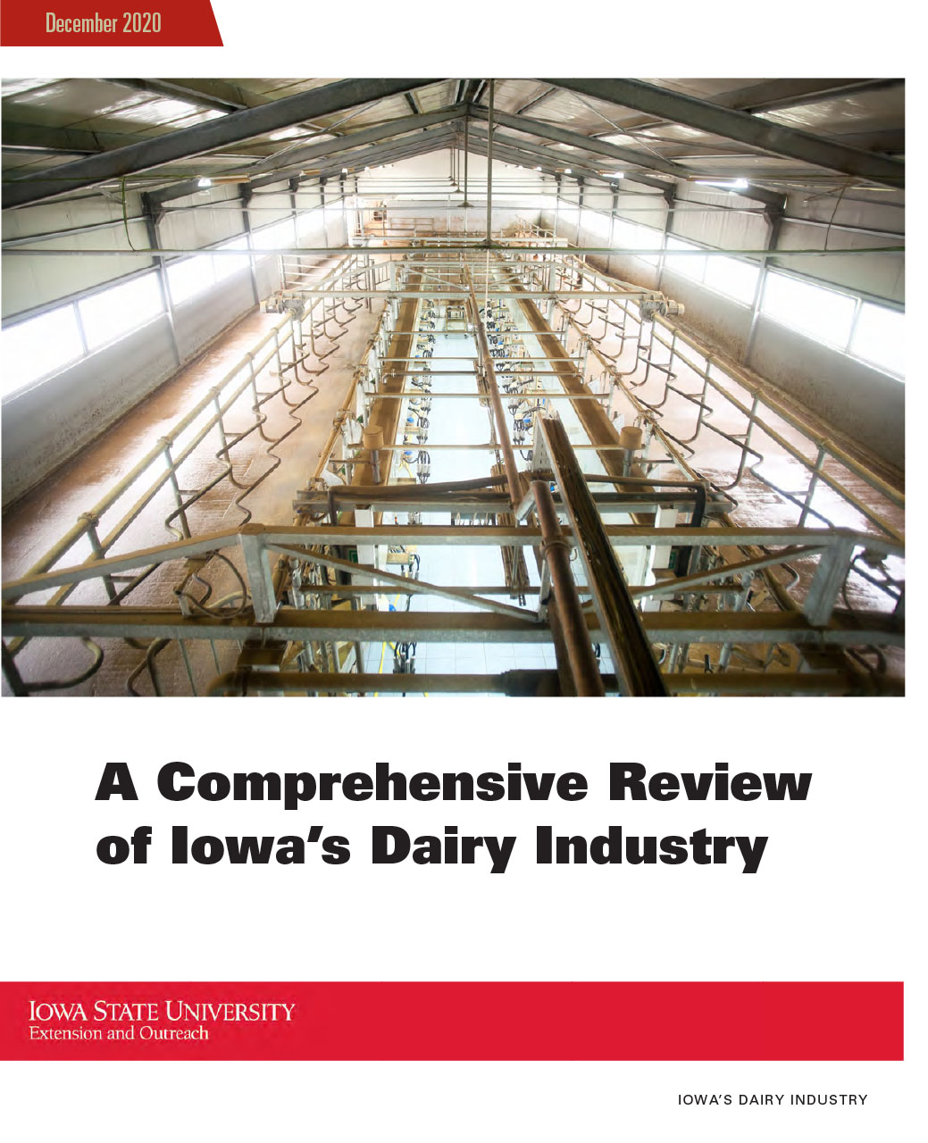 A Comprehensive Review of Iowas Dairy Industry